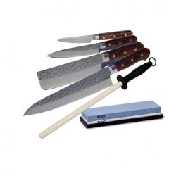 Elite kokkekniv sæt stort